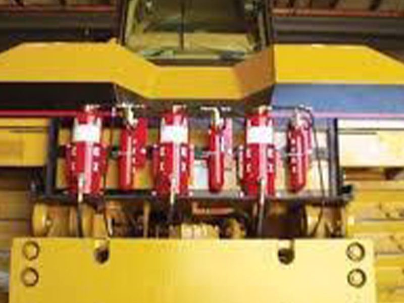 Mining fire suppression